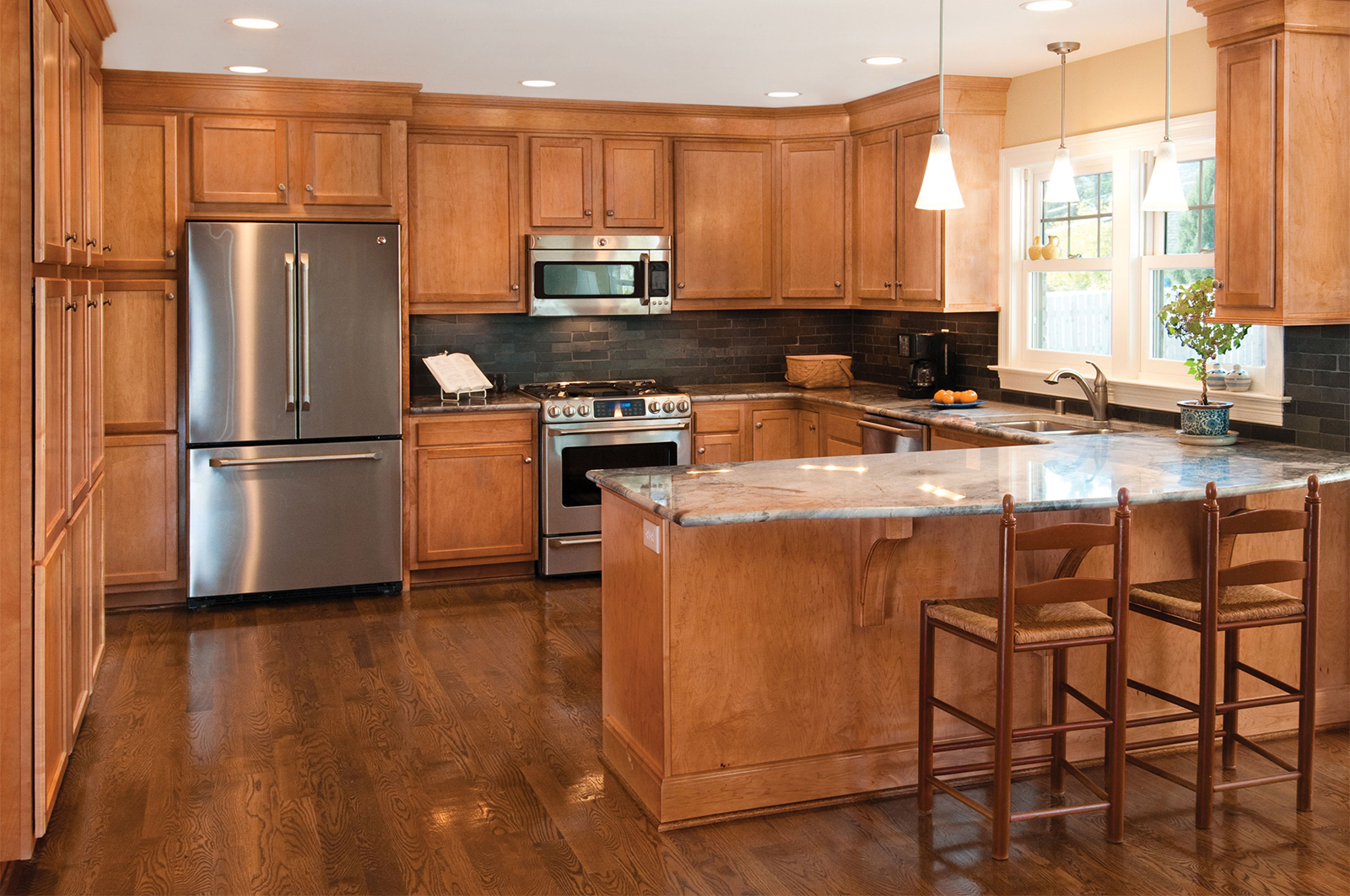 Kitchen cabinet refacing boston - Refinishing