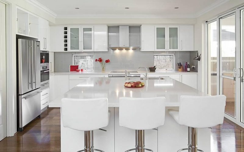 White Kitchen Cabinets Acton MA