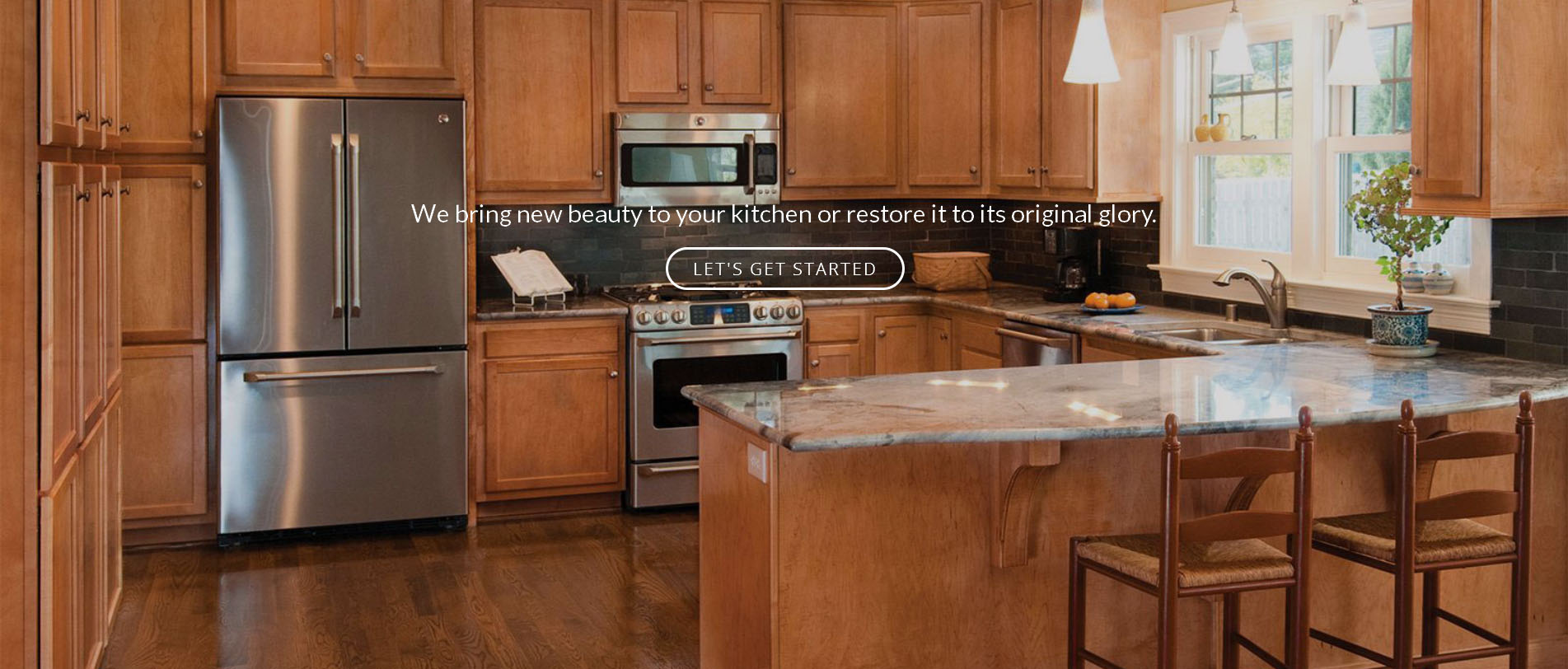 Refacing cabinets furniture refurbishing in acton ma for Catalyzed lacquer kitchen cabinets